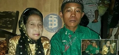 Age is nothing! Boy, 16, marries 71-year-old widow, threatens to kill himself if anyone interferes