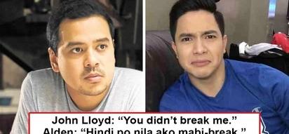 "Si Lloydie ang peg niya? Alden Richards shrugs off negativity for 2018 with epic ""di nila ako mabi-break"" line"