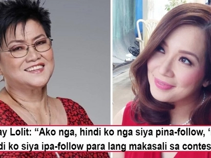 'Bakit kailangan pa niyang magpa-contest?' Manay Lolit hits on Kris Aquino's online gift-giving as a scheme to add followers!
