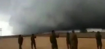 Israel Hopes This Storm Cloud Of Dust And Rain Between Israel And ISIS Is Divine Intervention