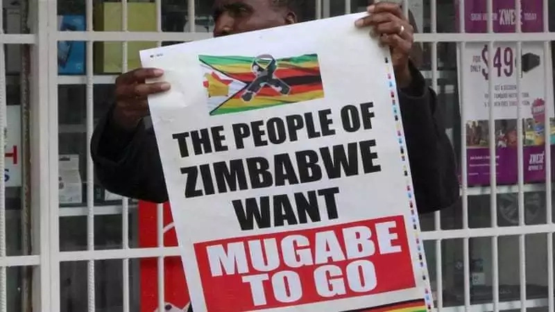 Zimbabwe President Robert Mugabe clings to power as deadline passes