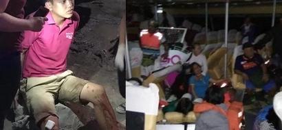 Netizen shares horrifying scenes from 2GoSupercat accident bound from Ormoc to Cebu