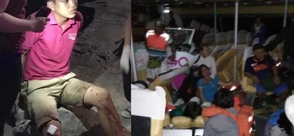 Netizen shares horrifying scenes from 2GoSupercat accident bound from Ormoc to Cebu