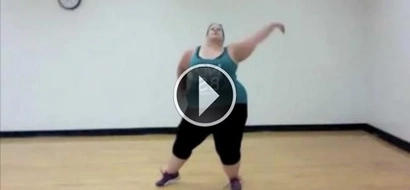 She was labeled as 'fat' and 'disgusting,' so she recorded this to silence haters