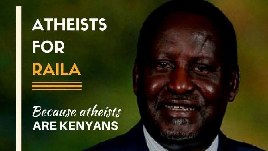 Hatua ya wakana mungu kumuunga mkono Raila Odinga yawaghadhabisha baadhi ya Wakenya