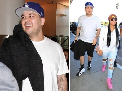 Blac Chyna and Rob Kardashian - An fascinating story of their romance