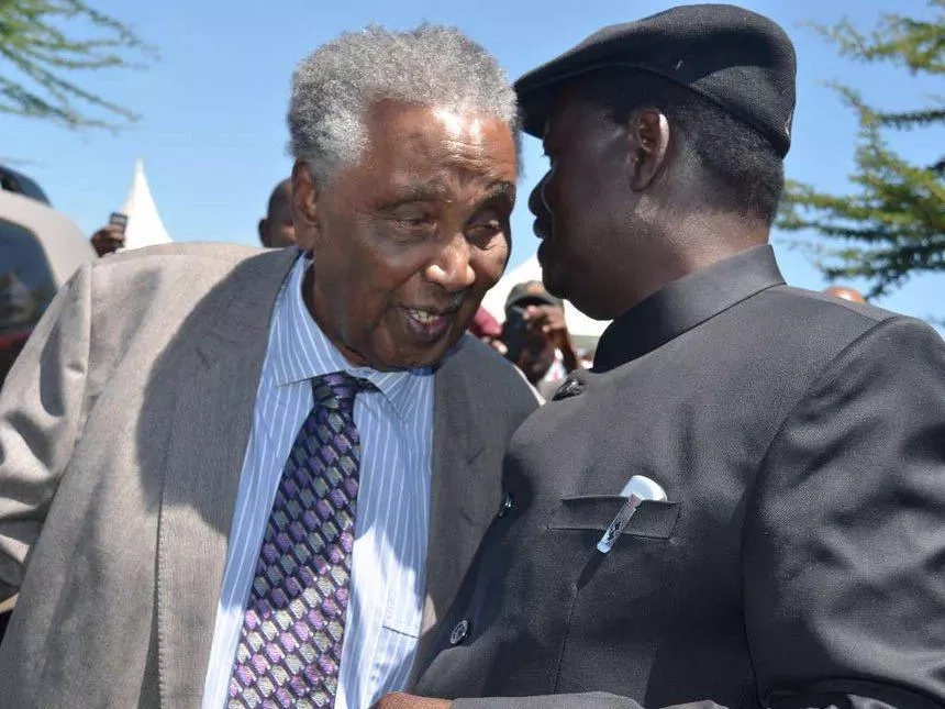 Uhuru, Raila mourn William Ole Ntimama