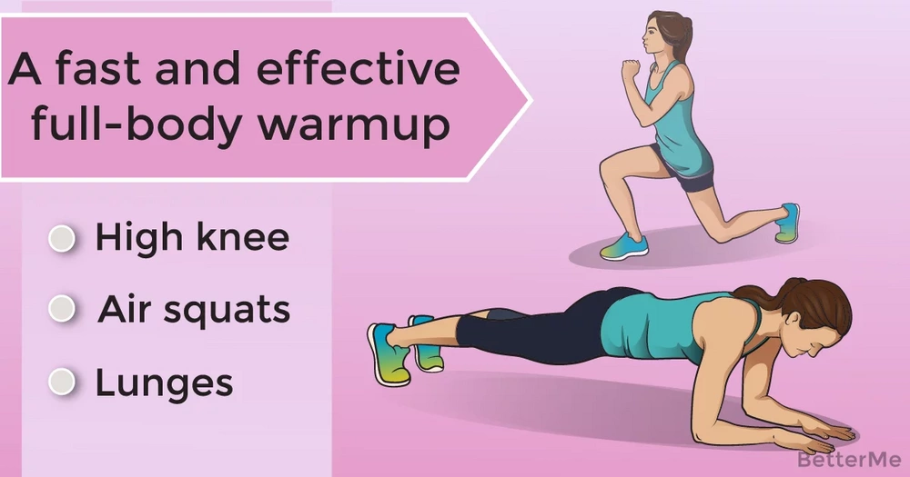 A fast and effective full-body warmup