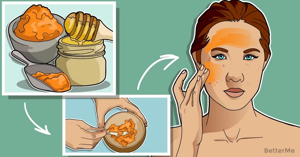 10 ways of using turmeric to cure pimples
