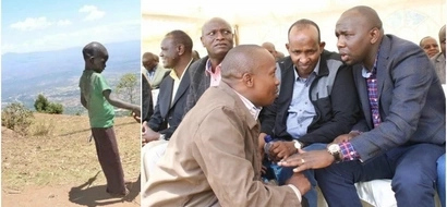 Photo of Jubilee Senator training a child how to use DANGEROUS weapon leaks