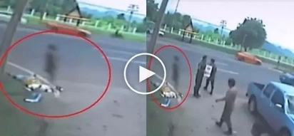 Ang creepy naman! Human spirit captured after woman dies in brutal car accident