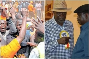 ODM governor HECKLED infront of Raila Odinga