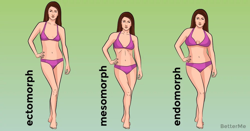 That's how lose weight according to your body types