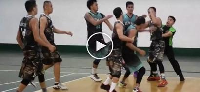 Furious Pinoys' wild brawl during basketball game in San Juan City caught on video