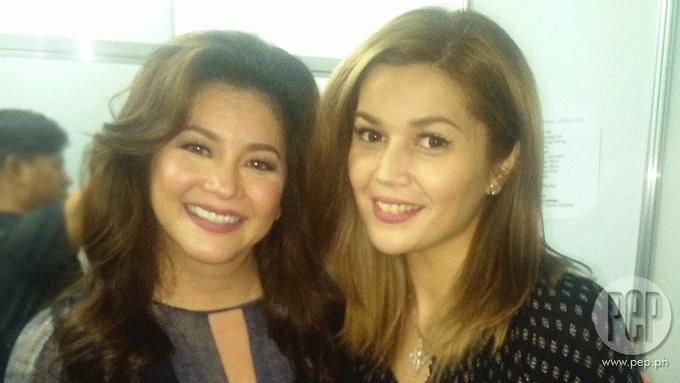 Regine Velasquez and Donna Cruz miss Mikee in Cebu