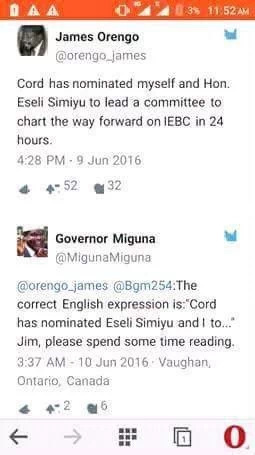 James Orengo gets dissed for failing English