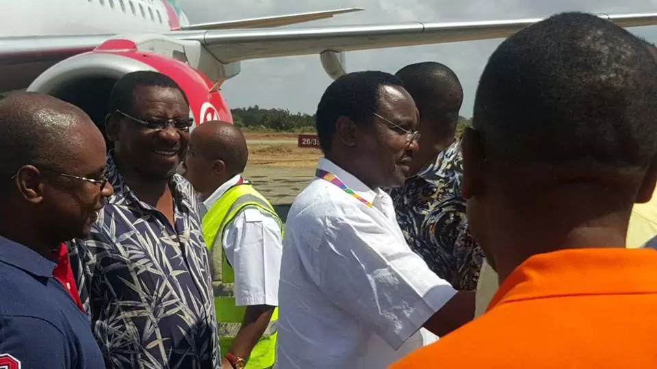 CORD leaders are in Malindi to show support to Joho