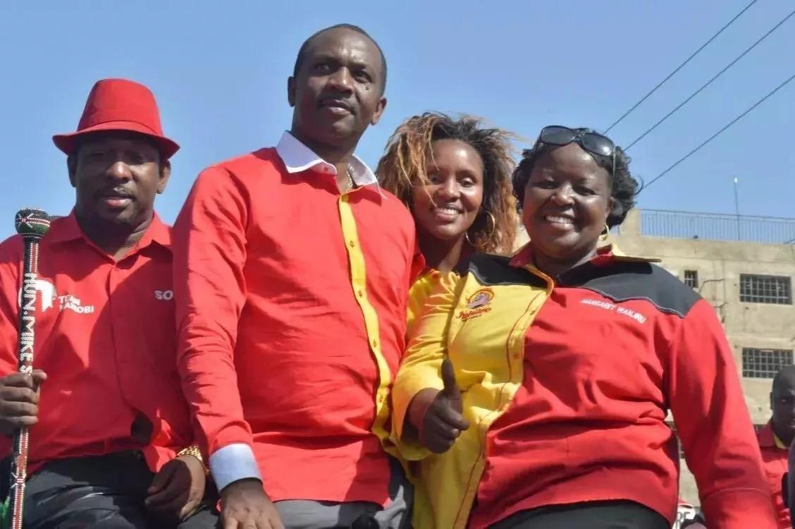 Huyu ndiye mwanamke aliyechukua nafasi ya Shebesh katika Jubilee?