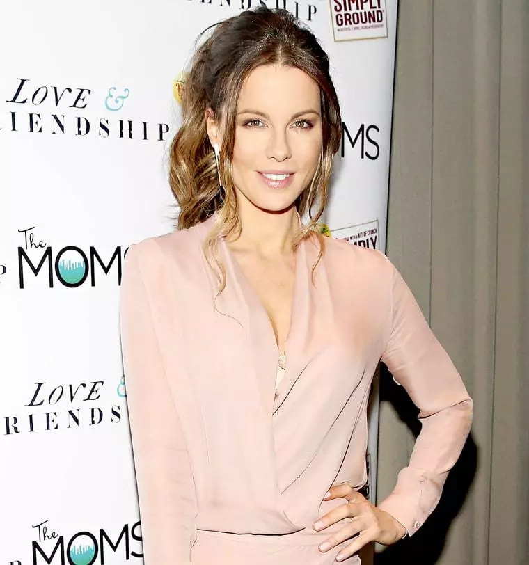 Hilarious: Kate Beckinsale outdoes herself in a giant penis costume!