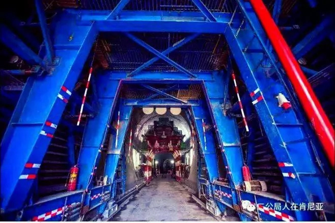 6 glorious photos of the underground tunnel of SGR from Nairobi-Naivasha