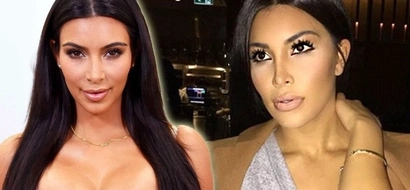 Check out this gorgeous woman that looks just like Kim Kardashian PHOTOS