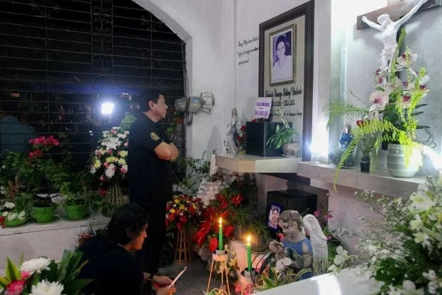 Duterte wishes to be buried beside his parents