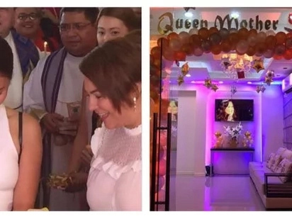 "Ang bongga! Newly opened ""Queen Mother"" beauty salon is owned by Karla Estrada"