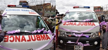 Youthful Embu MCA buys constituents KSh 4.5 million ambulance instead of buying himself a new car