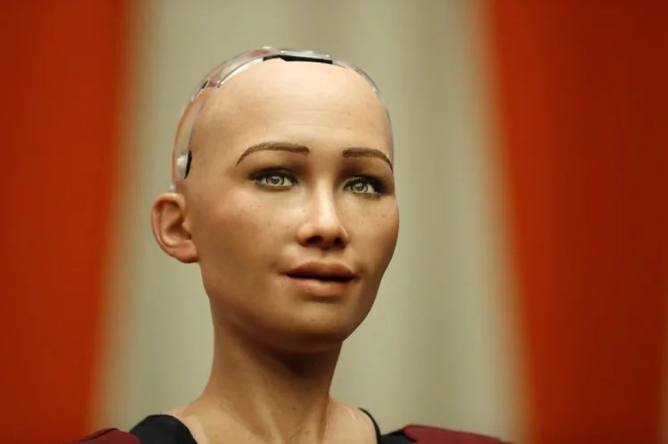 Saudi Arabia has granted Sophia, a humanoid robot, citizenship. Photo: Barcroft
