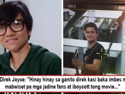 Kailangan nang mag-intervene ni Direk! Joyce Bernal tells netizens to chill after word-war ensued between Sarah's and JaDine's fans over nasty comment