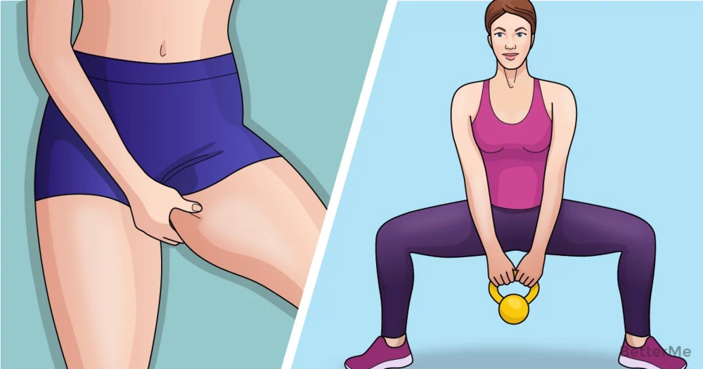 8 exercises to reduce inner thigh fat effectively