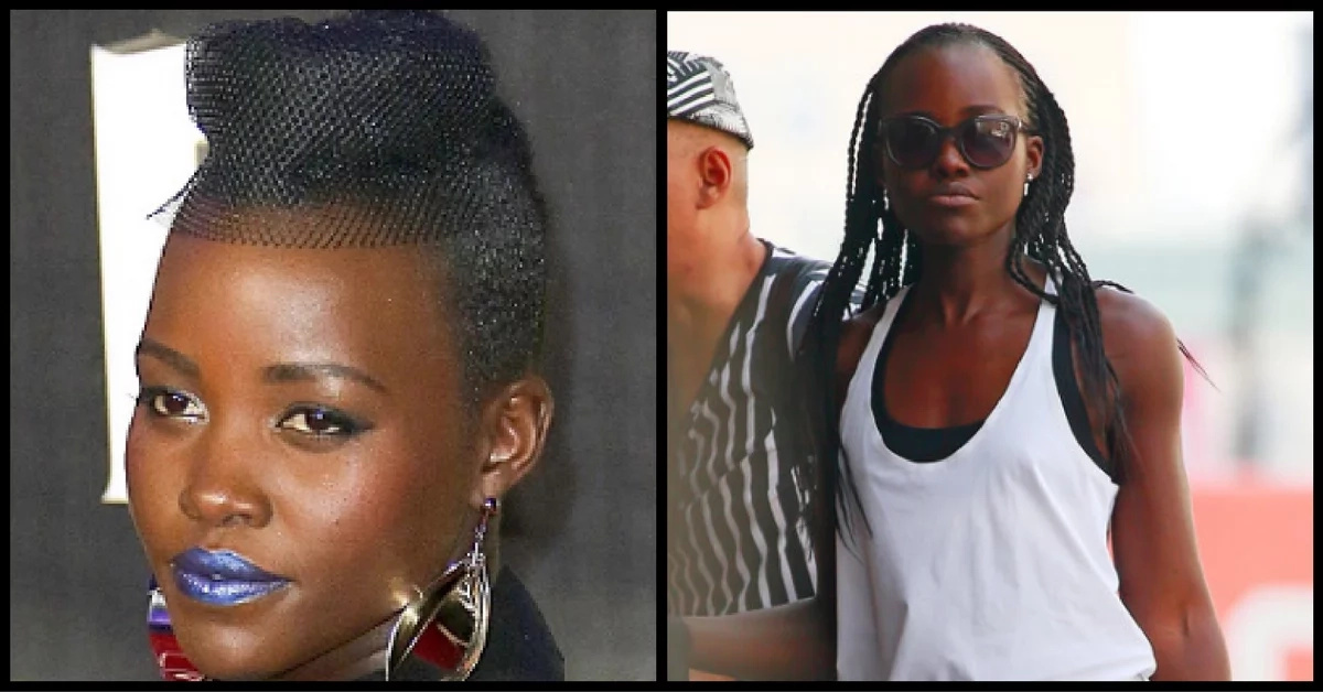 What was Lupita's stylist thinking with these hairstyles?