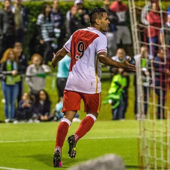 Falcao volvió a marcar en Liga de Campeones