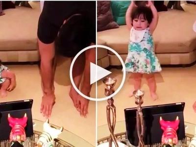 Watch daddy Hayden Kho teach her cute daughter Scarlet Snow how to dance!