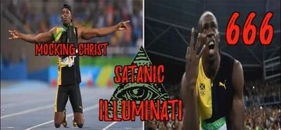 """Preacher claims Usain Bolt is a devil worshiper, gives """"evidence"""" (photos)"""