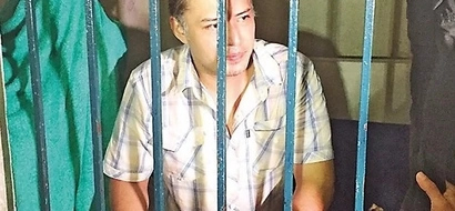 Mark Anthony Fernandez gets a taste of hell on earth in cramped Pampanga prison