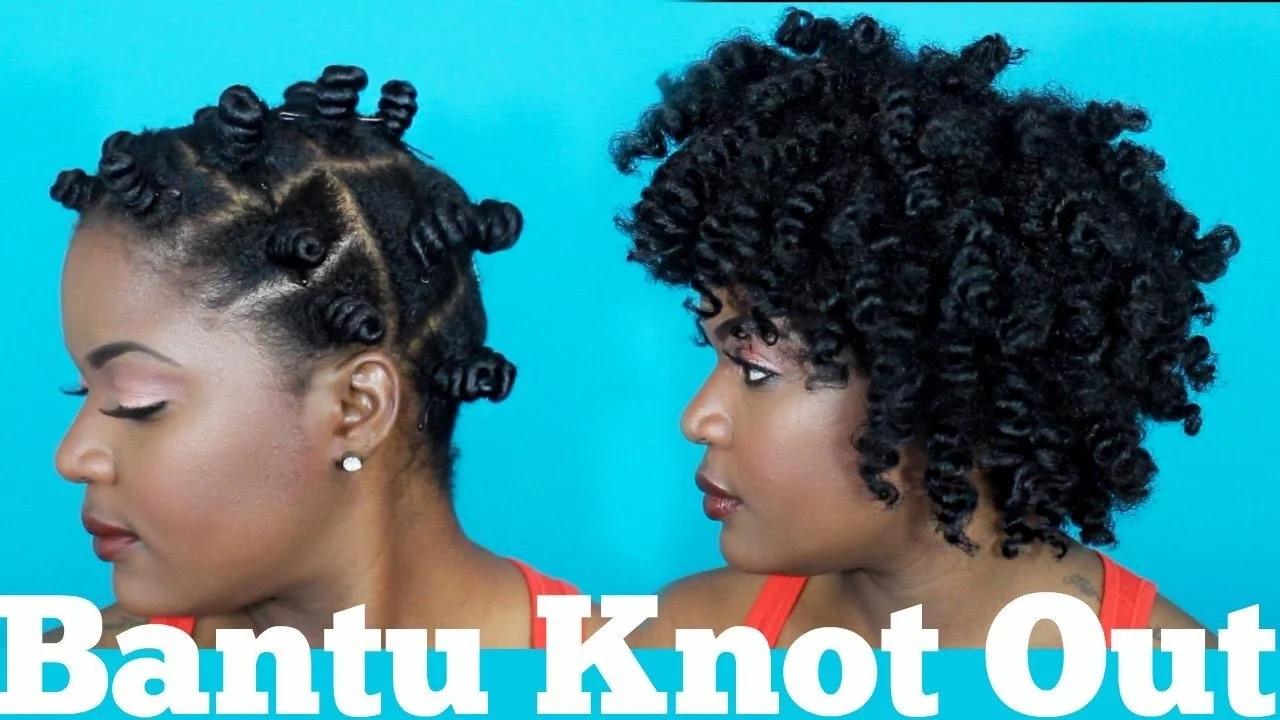 Natural Hair Styles Bantu Knots: Natural Hair Styles For Black Women Tuko.co.ke