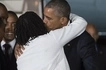Obama gives his Kenyan sister Auma a treat of a lifetime and he surely loves her