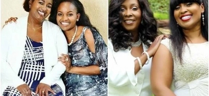 11 UNSEEN beautiful photos of Kenyan celebrities with their MOMS