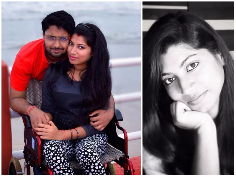 """I never thought I'd find love!"" Wheelchair-bound woman narrates how she met the love of her life"