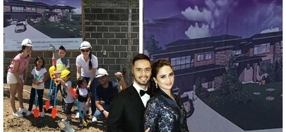 Mala palasyo! Oyo Boy Sotto and Kristine Hermosa share a glimpse of their dream house