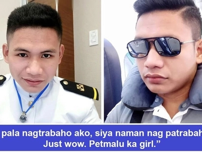 Di nakapag-antay si ateng! Betrayed Filipino seaman expresses outrage after girlfriend tells him she was impregnated by another while he's away