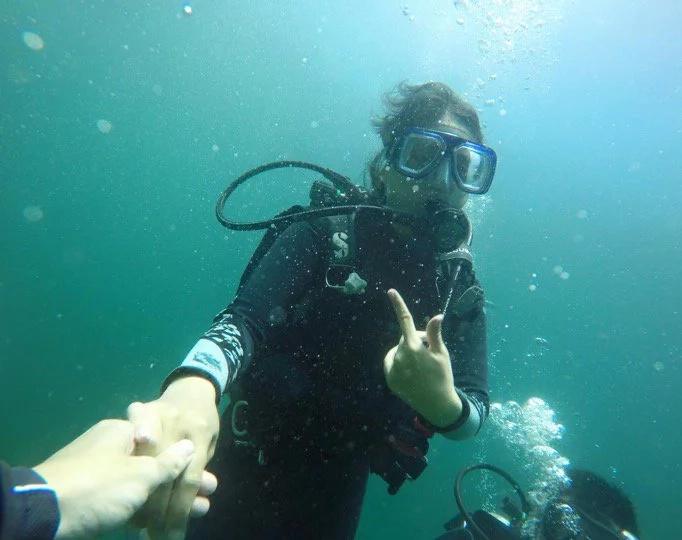SOLventures: Scuba diving in Anilao