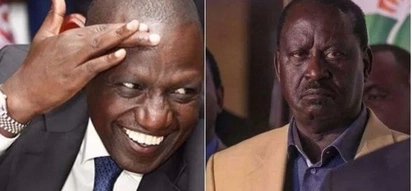 William Ruto claims to know why Raila flew to London