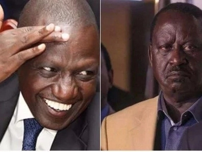 Raila is a despot who uses violence to advance his agenda - DP Ruto