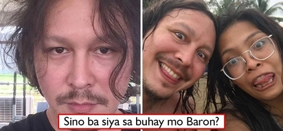 Sino yan? Baron Geisler posts with a woman whom he said made him enjoy even without internet!