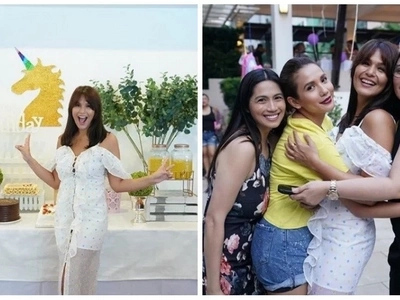 Natupad na ang pangarap niya! Iza Calzado celebrates her birthday with a kiddie-themed party