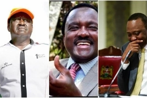 IEBC releases list of Presidential candidates and Kalonzo Musyoka is one of them