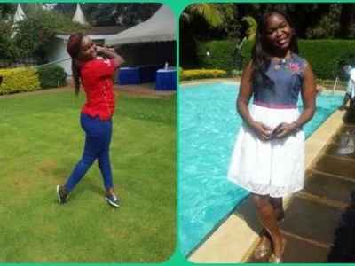 Emmy Kosgei's sister has always stunned Kenyans with her beauty and these photos prove it all