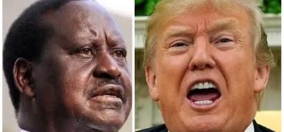 Raila amkabili Trump kwa kutusi nchi za Afrika